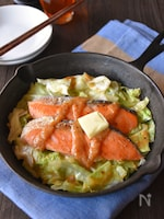 鮭とキャベツのちゃんちゃん焼き