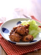 鶏むね肉の玉ねぎ醤油から揚げ