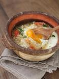 冬キャベツの巣ごもり風スープ