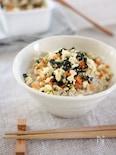 豆腐と余り野菜のふりかけ②♪あっさり塩味