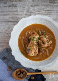 『健康レシピ♪レーズン入り鶏のトマトスープ(栄養計算つき)』