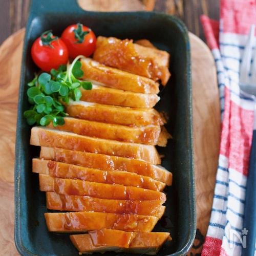 鍋で煮るだけ♪ご飯がすすむ♪『鶏むね肉の甘辛照り煮』