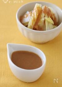 『【作りおき】酢味噌だれ(茹で野菜の酢味噌がけ)』