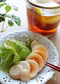 『さっぱり味が夏でも食べやすい!茹で卵のピクルス』