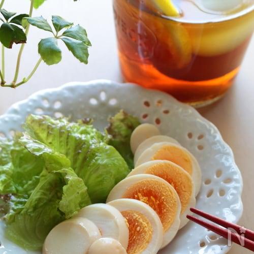 さっぱり味が夏でも食べやすい!茹で卵のピクルス