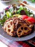 ご飯が進む♡『蓮根と牛肉のガーリック醤油炒め』