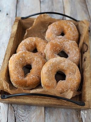 低糖質!ふすま入り、ふっくらドーナツ