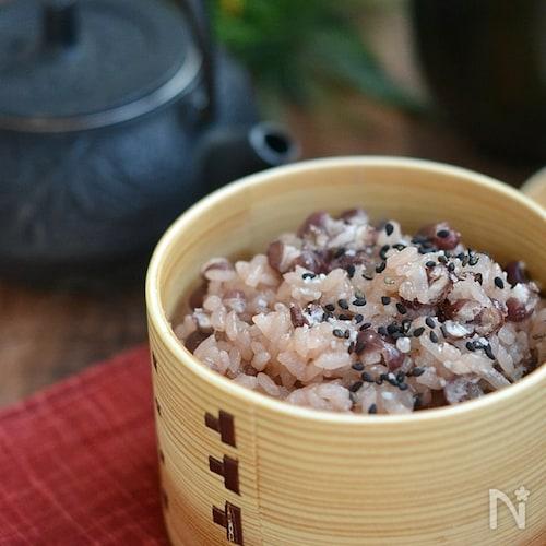 お祝いのお膳にお赤飯【冷凍・作り置き】