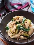 かち割りきゅうりと豚肉の香味中華漬け【#作り置き#お弁当】