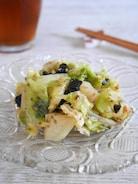 【らくレピ】優しい味で無限に食べれる!レンジ蒸しキャベツ