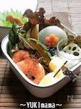 お弁当に〜海老のトマトクリームソース(作りおき)〜