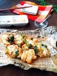 塩で食べる♢鶏ささみとブロッコリーのかき揚げ