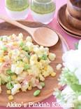 枝豆とじゃがいものデリ風サラダ 残り物の枝豆をリメイク!