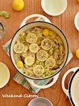 豚肉と白菜のごま油鍋