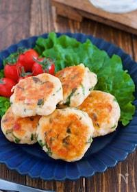 『『ささ身の明太チーズ丸め焼き』【#作り置#お弁当】』
