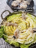 すだち昆布出汁の牡蠣ミルフィーユ鍋