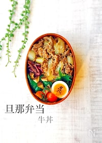 『レン・チン☆牛丼』