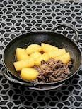 夏大根と牛肉の煮物