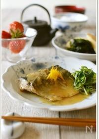 『鯖の味噌煮【作りおき】 』