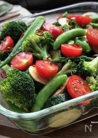 『【作り置き】疲れた身体に♡止まらない旨さ♡夏野菜の南蛮漬け♡』