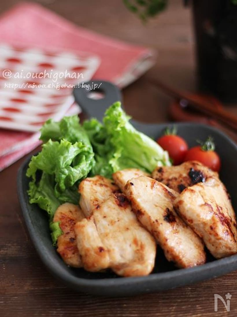 鶏モモの塩マヨ