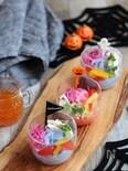 色が変わる!不思議な春雨サラダ