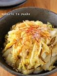 レンジで簡単!白菜のやみつき塩昆布ナムル