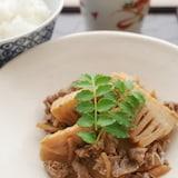 常備菜にも♪ 「竹の子と牛肉のしぐれ煮」