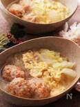 ふんわり卵が美味しい♡旨味たっぷりあったか肉団子の春雨スープ