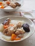 【炊飯器で】押し麦とたっぷり野菜のサムゲタン