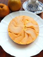 ホットケーキミックスで簡単☆和梨のケーキ