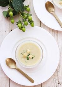 『食欲がない時にもおすすめ!さつまいもと豆乳の冷製スープ』