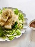 レンジで簡単♪カリカリじゃこの中華風豆腐サラダ
