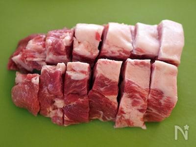 1 かたまり 豚 位 肩 レシピ 人気 ロース