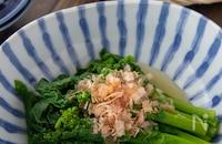 本当に美味しい菜の花のおひたし(ゆで方)|何度も作りたい定番レシピVol.189