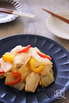 鶏肉と白菜のオイスターバター炒め