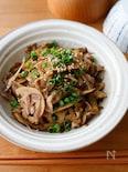 『ご飯に合う定番の味!豚と根菜の甘辛生姜炒め』#簡単#お弁当