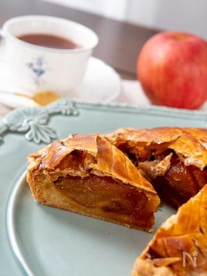 冷凍パイシートで作る!アップルパイ
