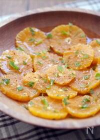 『アンダルシア風オレンジの冷菜』