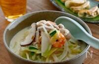 野菜たっぷり☆豆乳ちゃんぽん麺