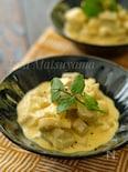 *インドのライタ風根菜のヨーグルトサラダ*