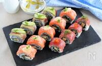 おもてなしにも!デパ地下で人気の「ロール寿司」を作ってみよう