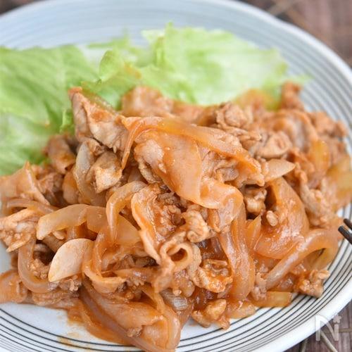豚こま切れ肉と玉ねぎのケチャップ炒め【冷凍・作り置き】