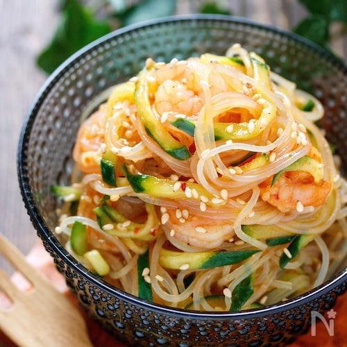 タイ風春雨サラダ【#ナンプラー不使用#焼肉のたれ#常備菜】