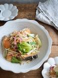 塩鮭とカット野菜で簡単に!野菜たっぷり鮭の南蛮漬け