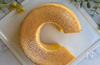 卵を残さない基本のシフォンケーキ