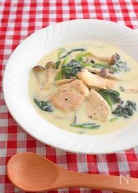 『【下味冷凍肉で】鶏むね肉のクリーム煮』