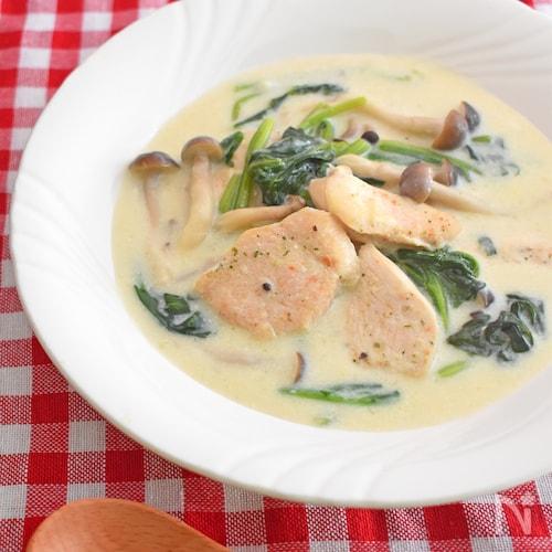 【下味冷凍肉で】鶏むね肉のクリーム煮