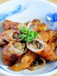 焼き茄子の豚バラ肉巻き