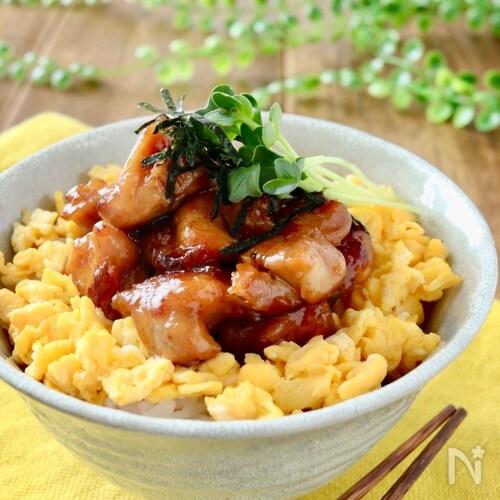 鶏照り焼き丼(焼き鳥丼)